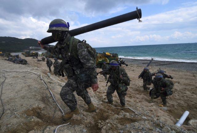 South Korea's armed forces rely heavily on conscription and military service often involves postings to front-line positions on the border with North Korea