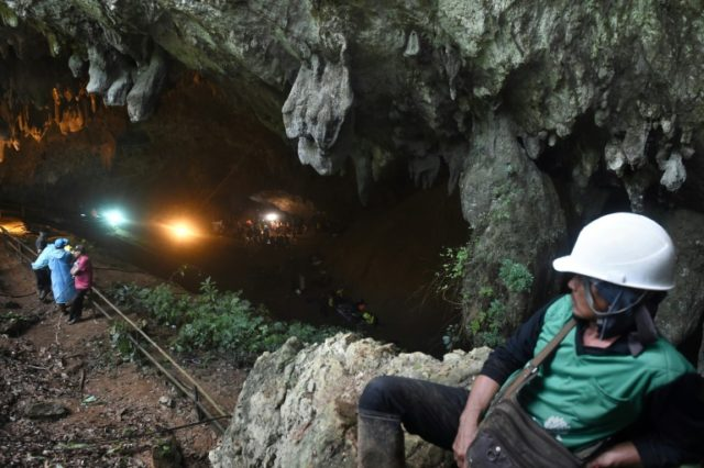 Foreign teams joined rescue efforts at a flooded cave in Thailand where 12 children and their coach have been trapped for five days