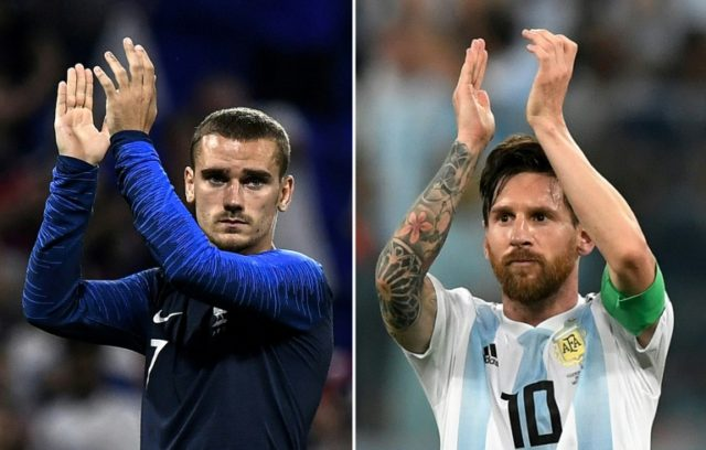 Argentina will count on Lionel Messi while France need Antoine Griezmann to find form