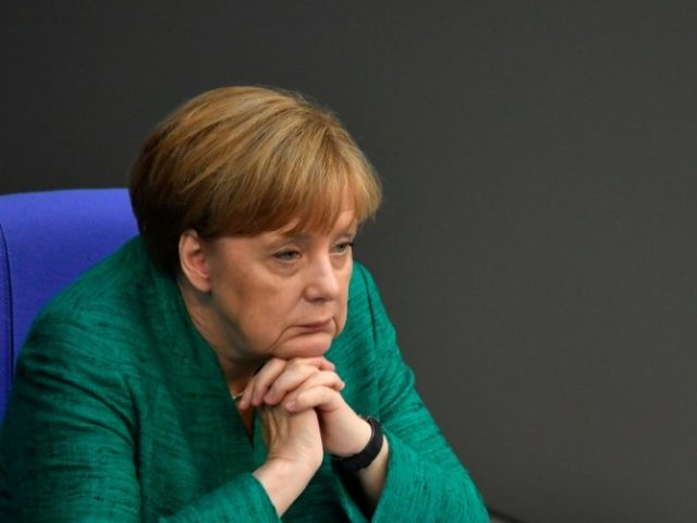 German Chancellor Angela Merkel warned that Europe's 'destiny' could be at stake over the migration issue