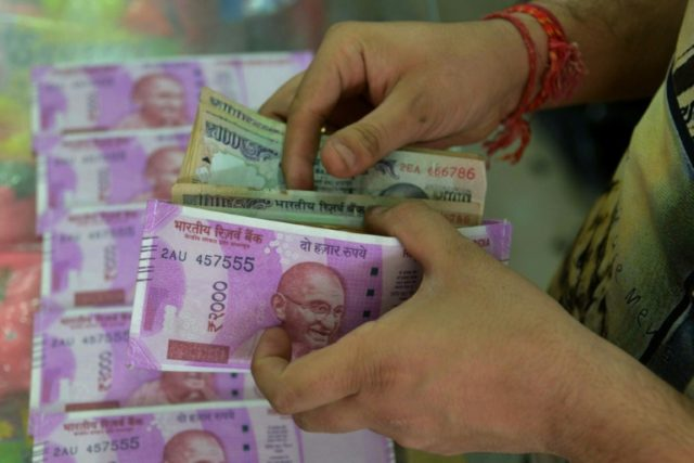 The rupee is Asia's worst performing currency according to Bloomberg News