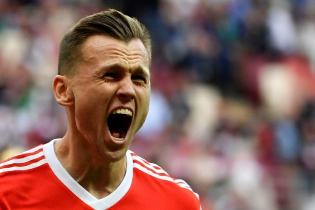 Russian midfielder Denis Cheryshev has emerged as one of the surprise stars of the World Cup