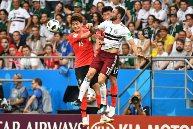Newcastle-bound: South Korea's midfielder Ki Sung-yueng in action at the World Cup