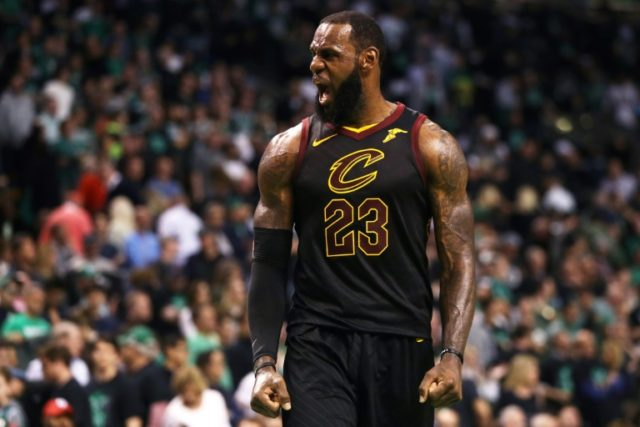 On the move?: LeBron James