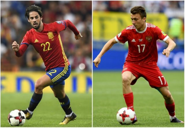 Isco and Aleksandr Golovin have been standout performers for their countries in Russia