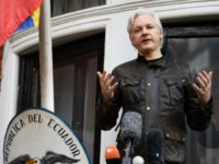 Report: Ecuador Handing Over Julian Assange to U.K. in 'Coming Weeks or Even Days'