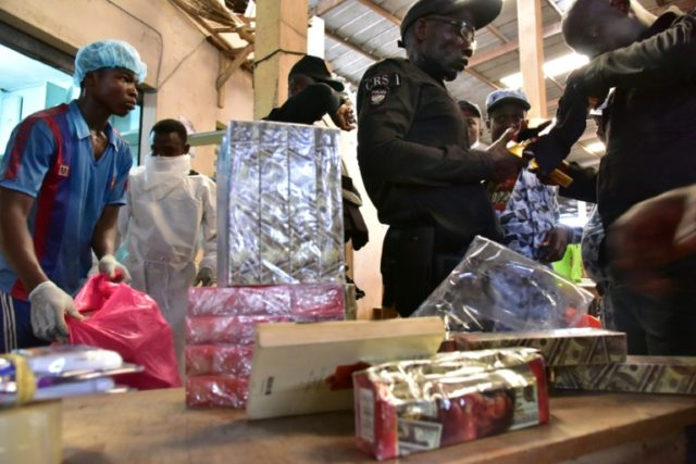 Counterfeit medications are a flourishing -- and highly dangerous -- business in many parts of West Africa