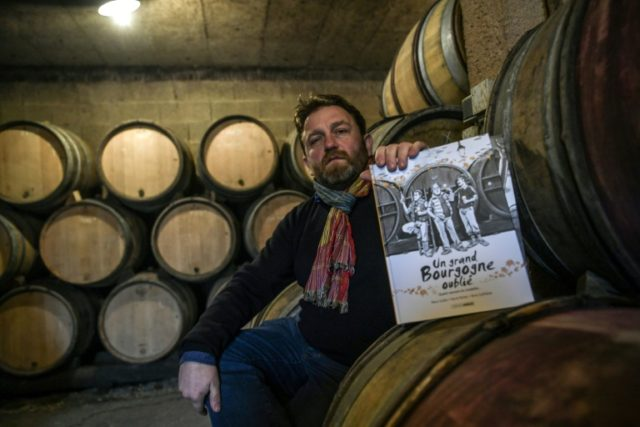 """Organic winemaker Emmanuel Guillot's comic book series, """"A Great Forgotten Burgundy"""" (""""Un Grand Bourgogne Oublie"""") is among a new wave of graphic novels for adults about wine in France"""