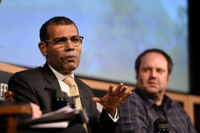 Exiled Mohamed Nasheed withdrew his candidacy for September's contentious election, but said his Maldivian Democratic Party (MDP) would appoint another candidate to contest the polls