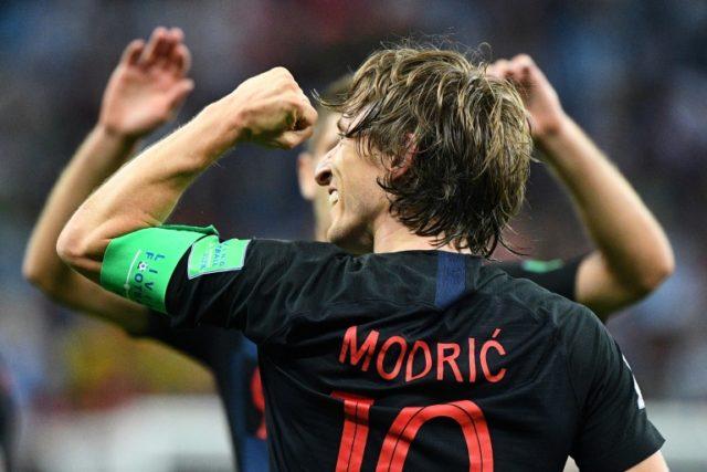 Croatia midfielder Luka Modric has been one of the stars of the tournament so far
