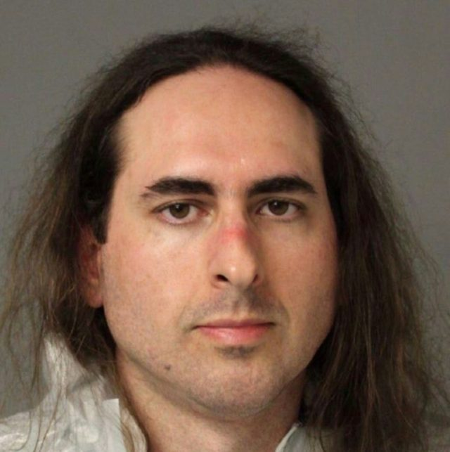 Jarrod Ramos, shown here in an undated houndout photo obtained from the Anne Arundel County Police, is the lone suspect in a June 28, 2018 shooting that killed five people at the Capital Gazette newspaper in Annapolis, Maryland