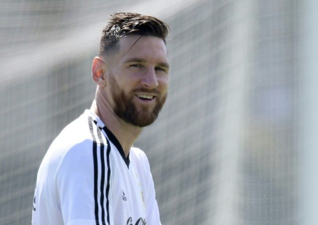 Lionel Messi will be looking to fire Argentina into the World Cup quarter-finals