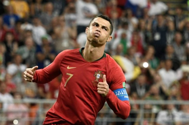 Portugal forward Cristiano Ronaldo has four goals at the World Cup