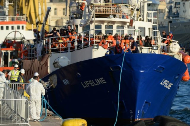 Earlier in June, Malta allowed charity rescue boat Lifeline to dock in its port with 230 migrants