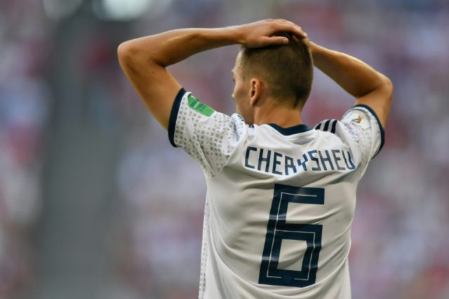 Russia's Denis Cheryshev has scored three goals so far at the World Cup