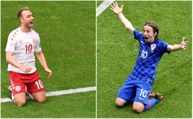 Eriksen-Modric battle 'could decide' Croatia v Denmark World Cup clash