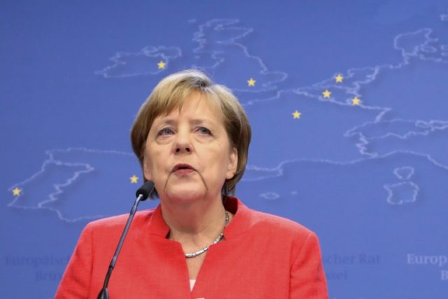 German Chancellor Angela Merkel's coalition government has been sent to the brink over the migration issue