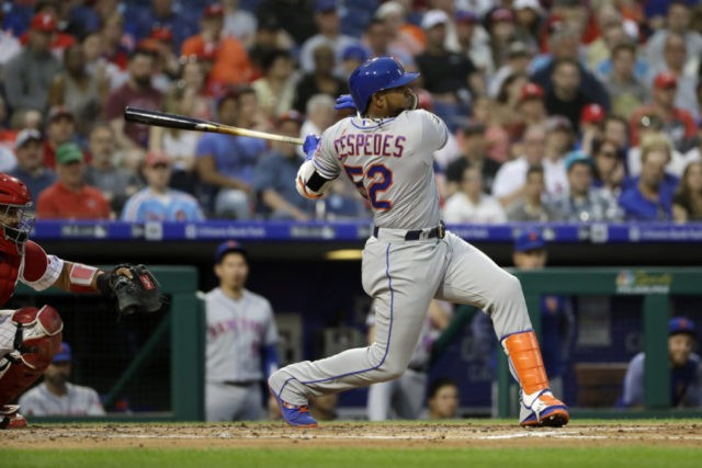 Injured Cespedes may be ready for Mets-Yankees series