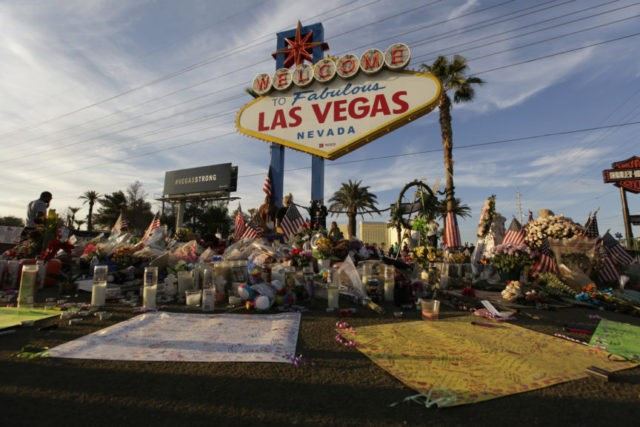 Vegas police release 911 calls, roof video of shooting site