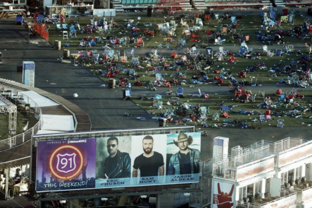 Vegas shooting 911 calls: 'There's people shot everywhere!'