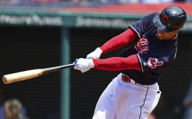 Carrasco strikes out 10 as Indians beat Brewers 3-1