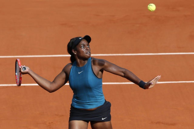 The Latest: Stephens reaches her first French Open final