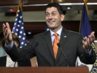 Paul Ryan Declares U.S. Election 'Over' in Euro Banking Conference Talk