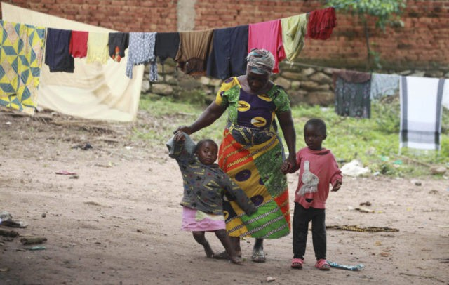 Congo woman opens home to dozens of children orphaned by war