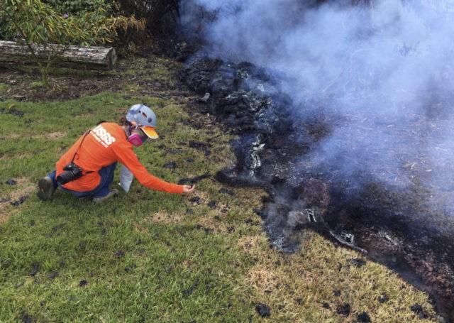 Scientists reap data from Hawaii's rumbling Kilauea volcano
