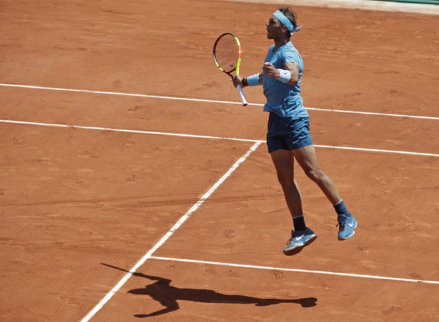 The Latest: Nadal moves into 11th French Open semifinals