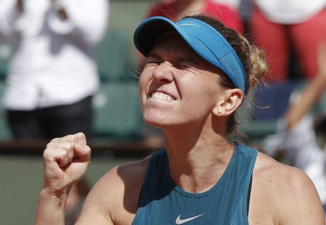 Halep beats Muguruza at French Open to reach 4th Slam final