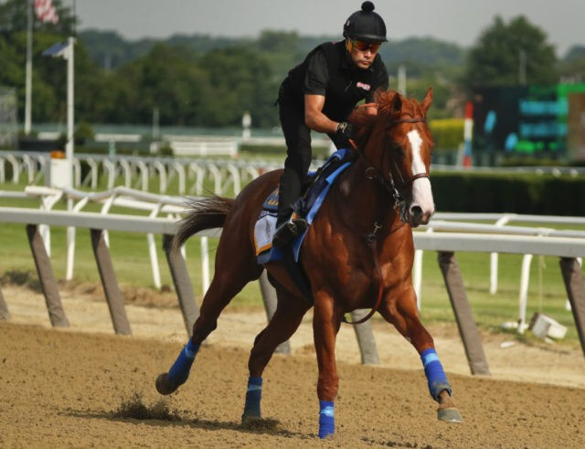 Justify ready for run at Triple Crown history in Belmont