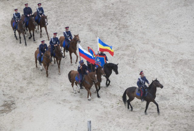 Cossacks under scrutiny as they prepare to guard World Cup
