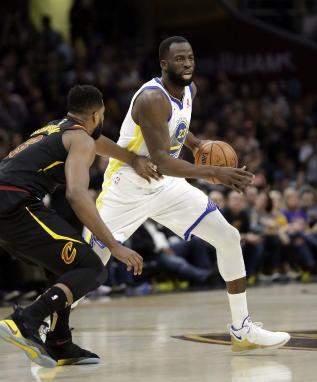The Latest: Curry, Warriors off to fast start in Game 4