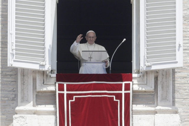 Pope to oil execs: Clean energy is an 'epochal' challenge