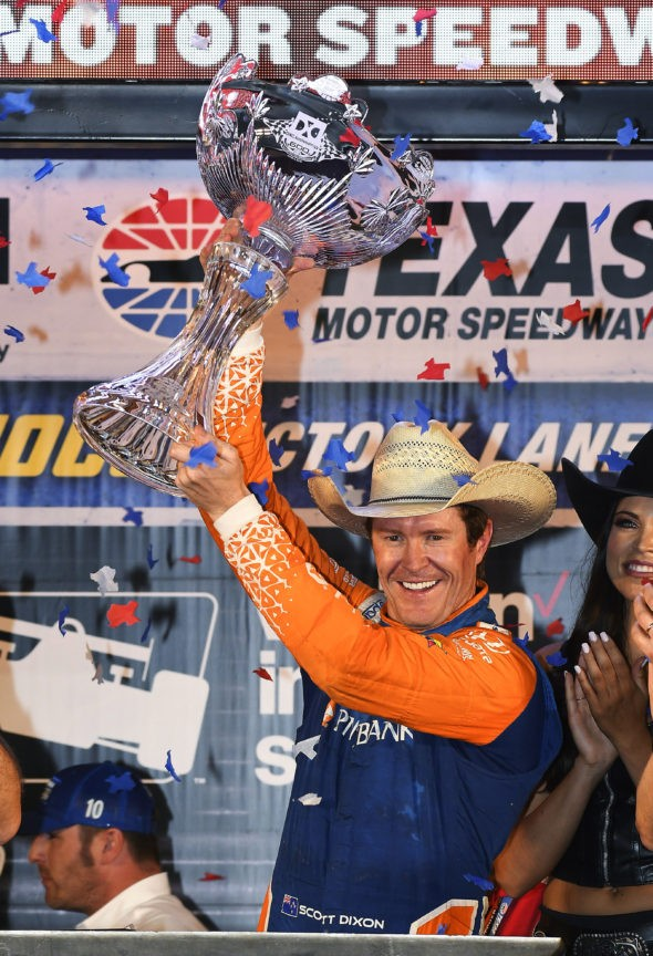 Scott Dixon leads last 119 laps for IndyCar win at Texas