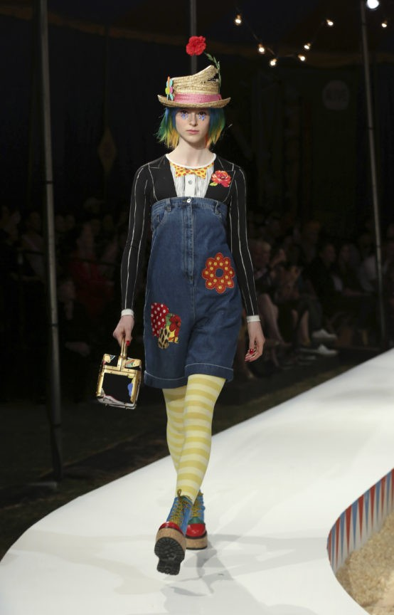 Moschino hosts a big top bash for circus-themed resort show