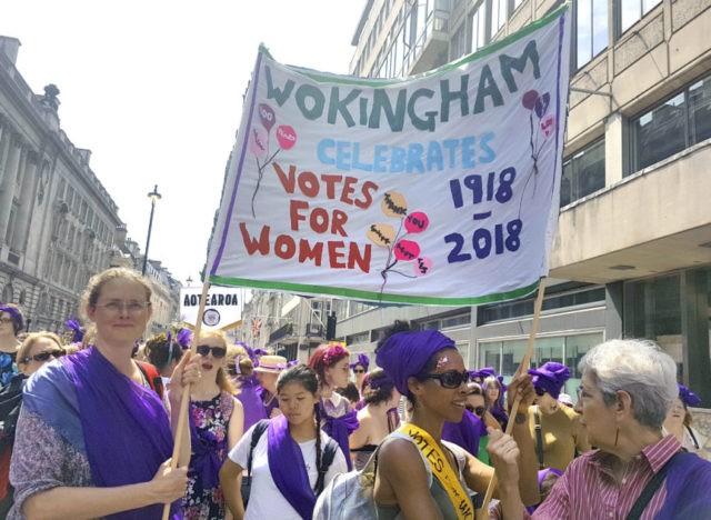 Suffragette cities: UK displays mark women's vote centenary