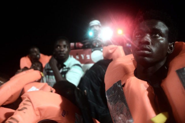 The Latest: Italy: Today is turning point in EU migration