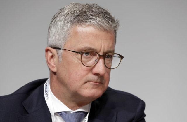 German prosecutors investigate Audi CEO in emissions case