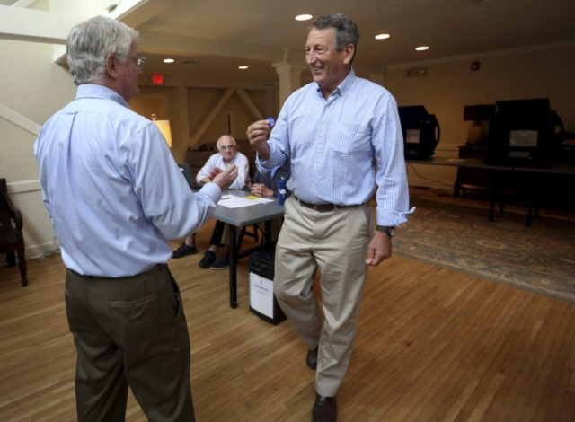 The Latest: Rep. Mark Sanford: 'I'm going to lose this race'