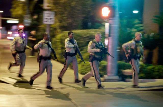 Police release more video from officers at Vegas shooting