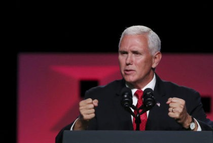 Pence gives campaign-style speech to Southern Baptists