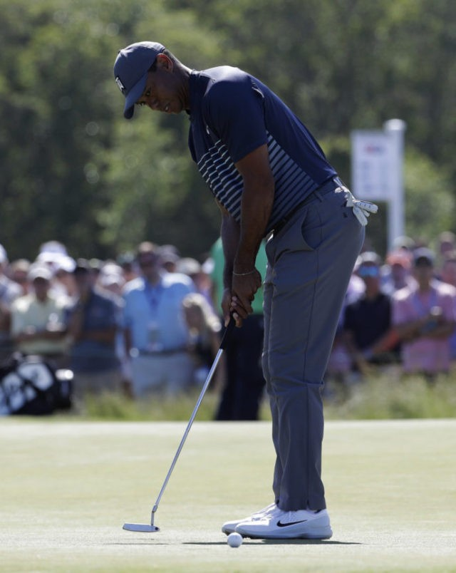 A 7 and a 78: Ugly numbers for Tiger Woods in US Open