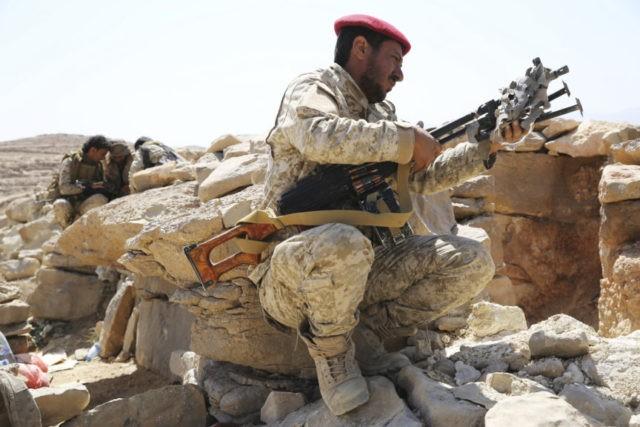Saudi-led forces battle Shiite rebels south of Hodeida