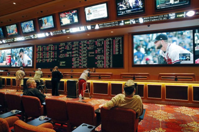 New Jersey begins taking legal sports bets