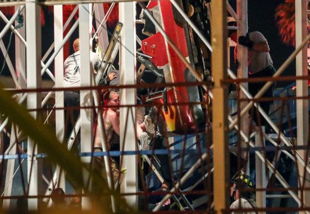 Riders plunge 10 meters in roller coaster derailment