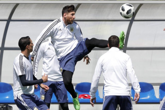 Messi begins bid for 1st World Cup title against Iceland