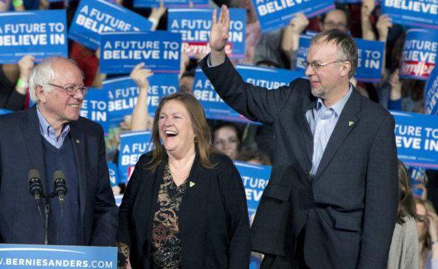 Bernie Sanders, Jane Sanders, Levi Sanders