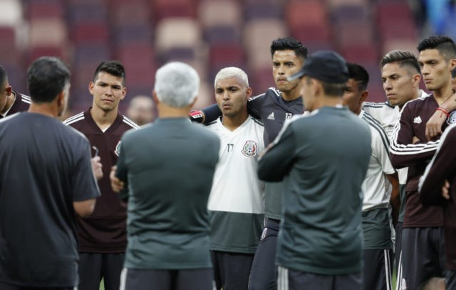 Mexico coach spots weakness in Germany's defense
